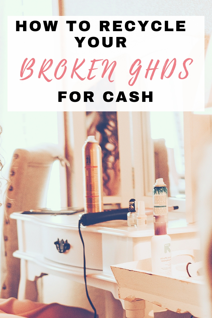 How to sell broken ghds for cash