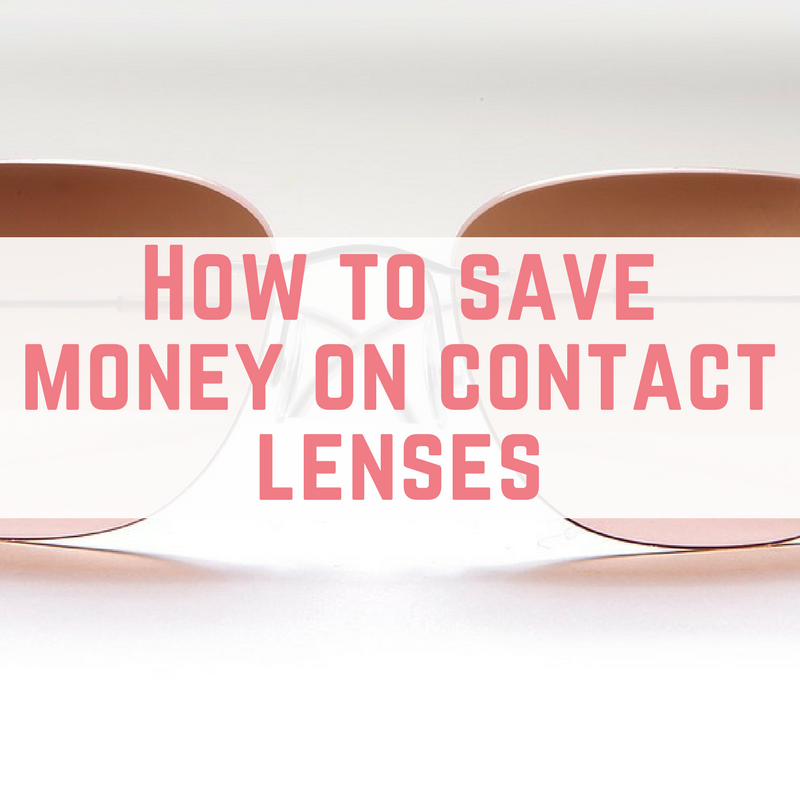 money on contact lenses