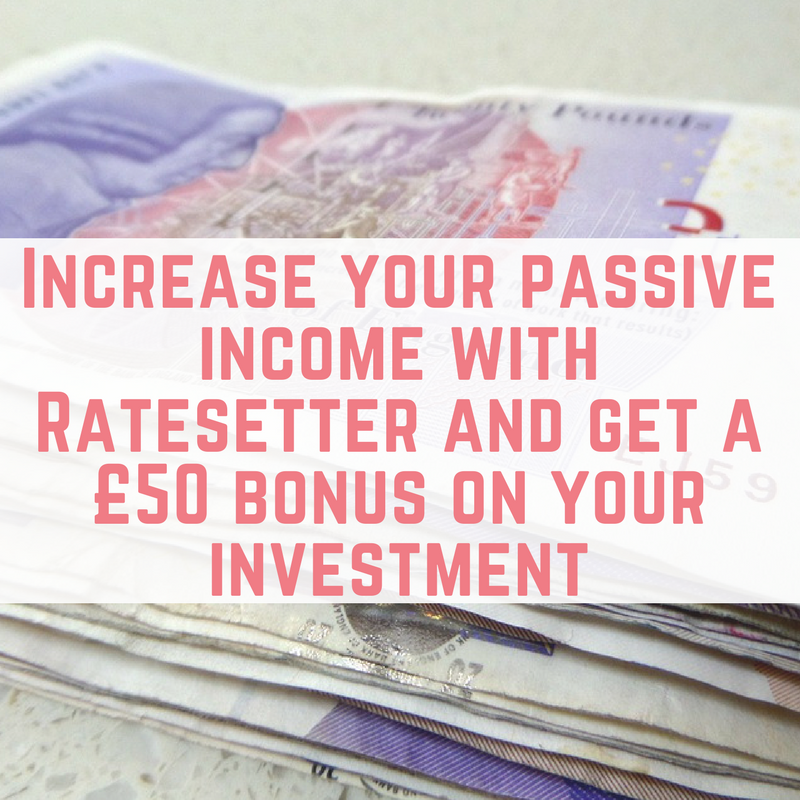 and get a £50 bonus on your investment