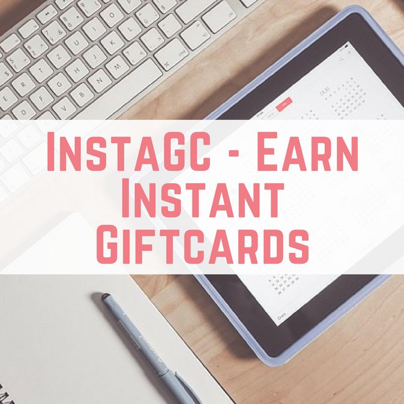 InstaGC - Earn Instant Giftcards Instagc review