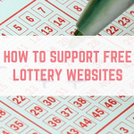 How to support free lottery websites