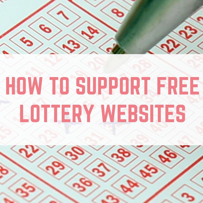 free lottery websites