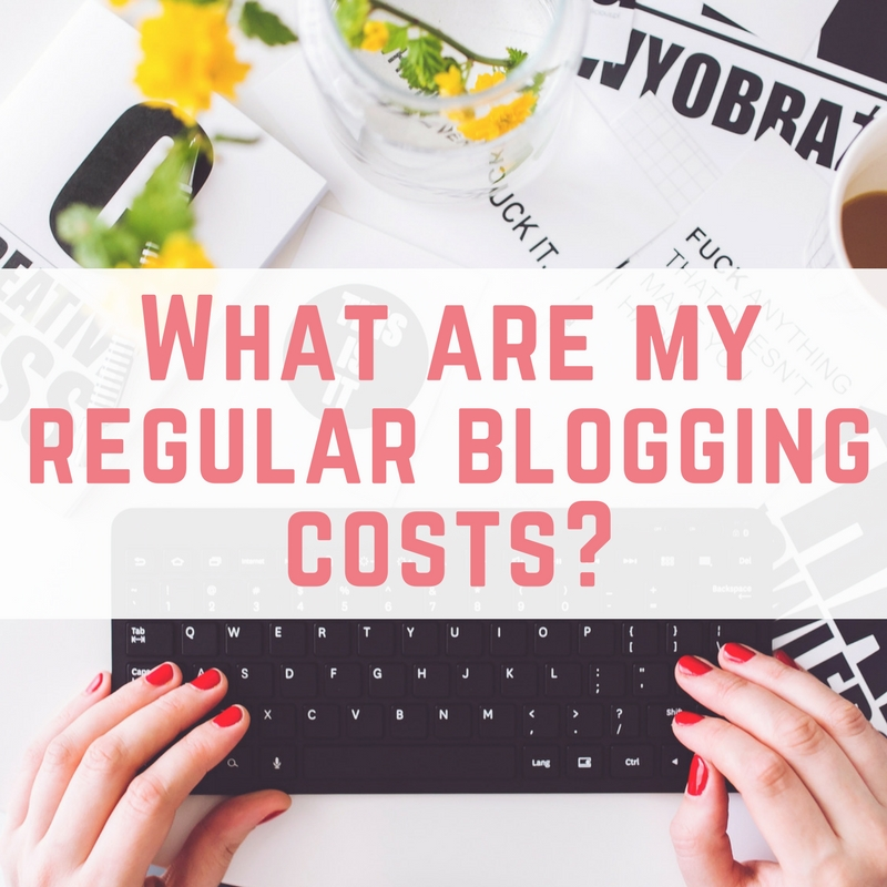 regular blogging costs