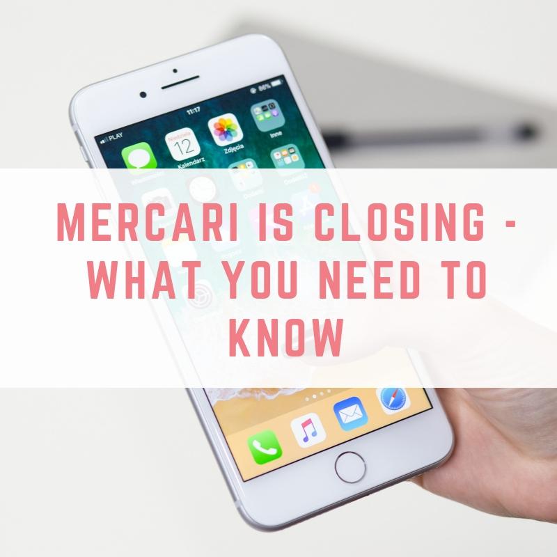 Mercari is Closing