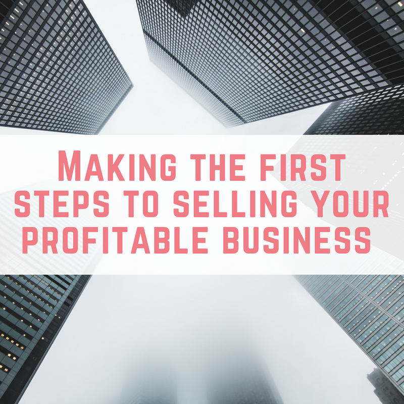 selling your profitable business