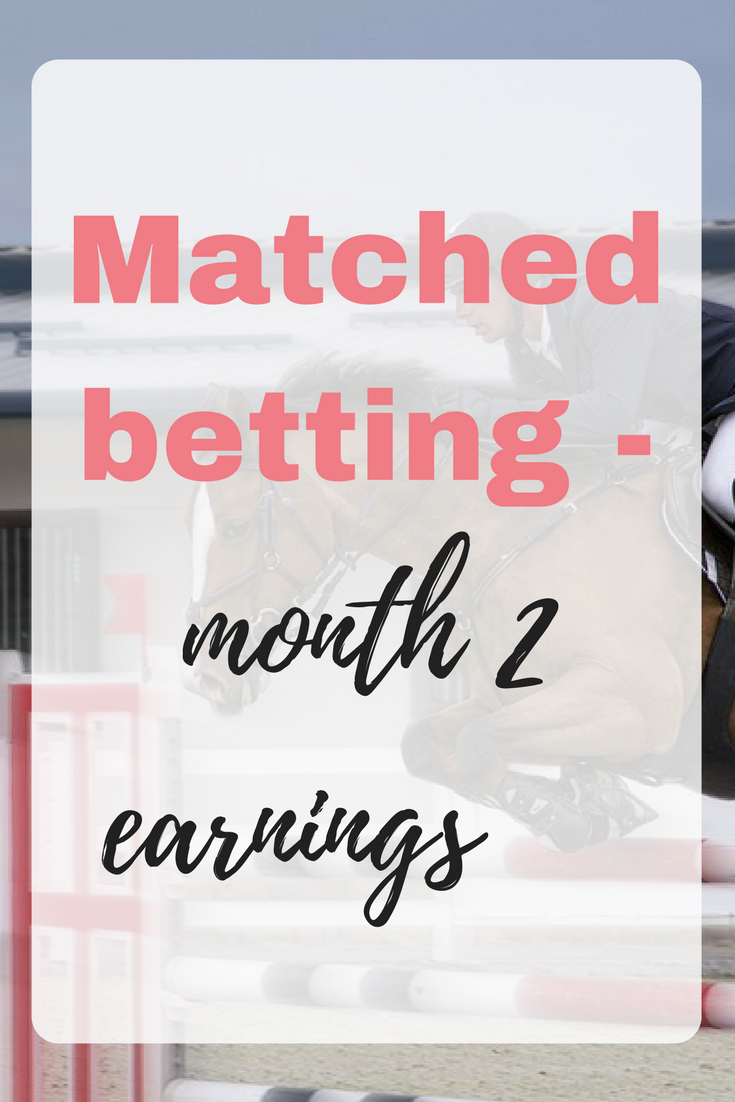 Matched betting - month 2 earnings-2