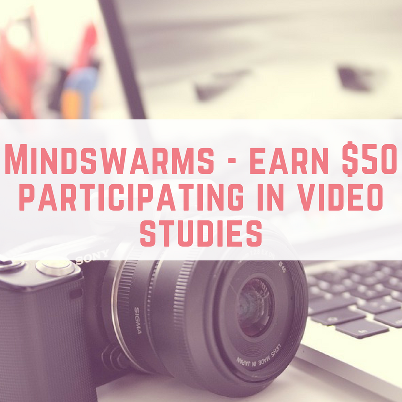 earn $50 participating in video studies