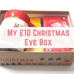 My £10 Christmas Eve Box