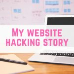 My website hacking story