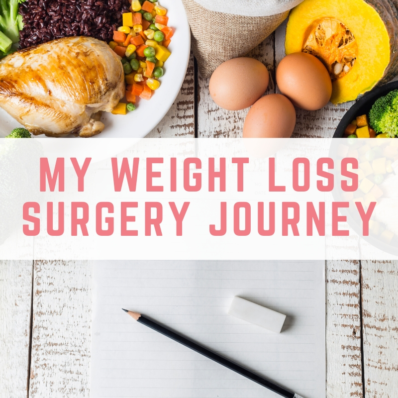 My weight loss surgery journey