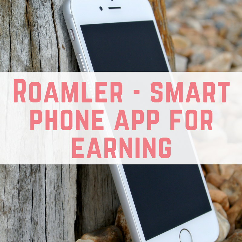 Roamler - smart phone app for earning