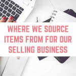 Where we source items for reselling