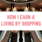 How I earn a living by SHOPPING!