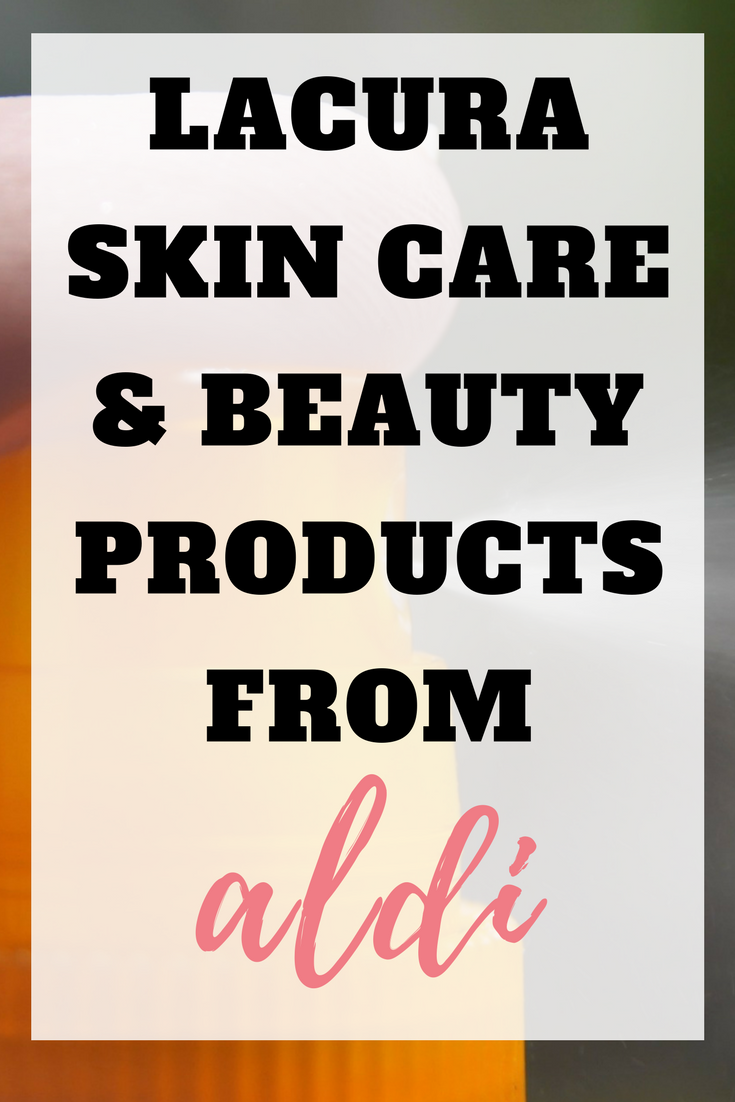 Aldi Lacura Have you tried the Aldi Lacura skin and beauty range? They make great dups and smell amazing. Find out more about the Aldi skin care range here by Emma at Emmadrew.info #AldiProducts #Dups #SwapandSave #SaveMoney