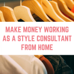 Make money working as a style consultant from home