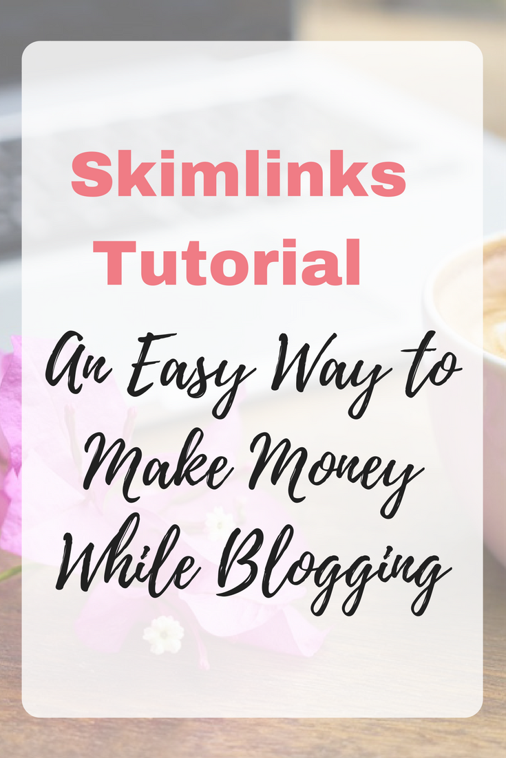 Skimlinks Tutorial