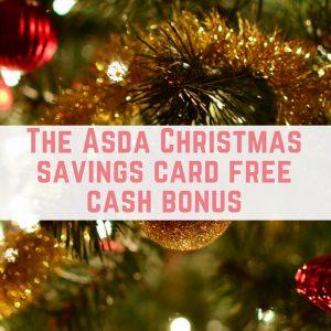 Asda Christmas Savings Card Report