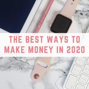 ways to make money in 2020