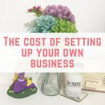 The cost of setting up your own business