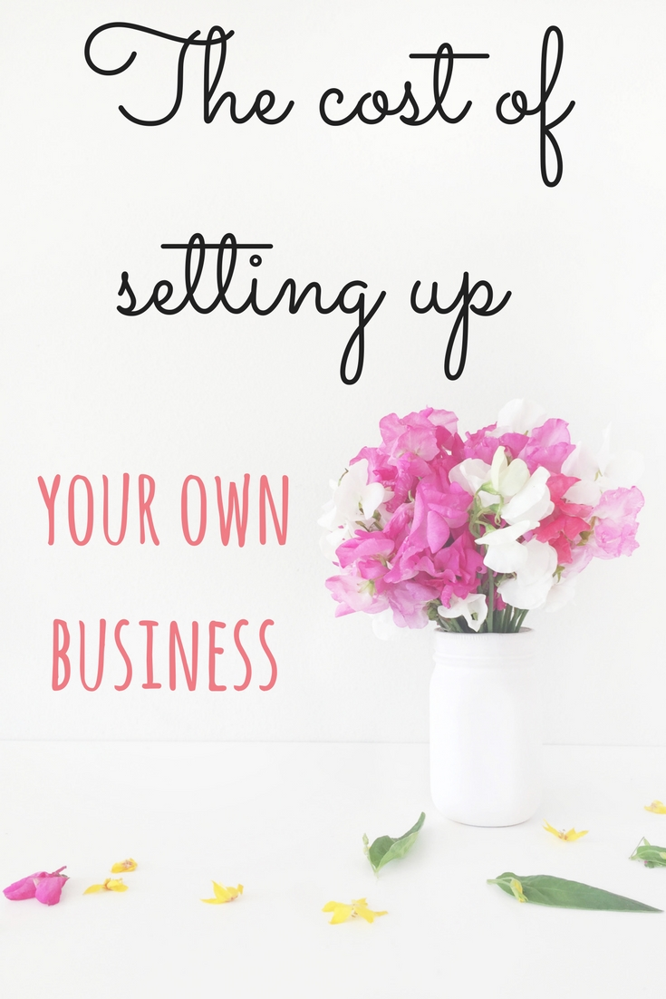 The true cost of setting up your own business