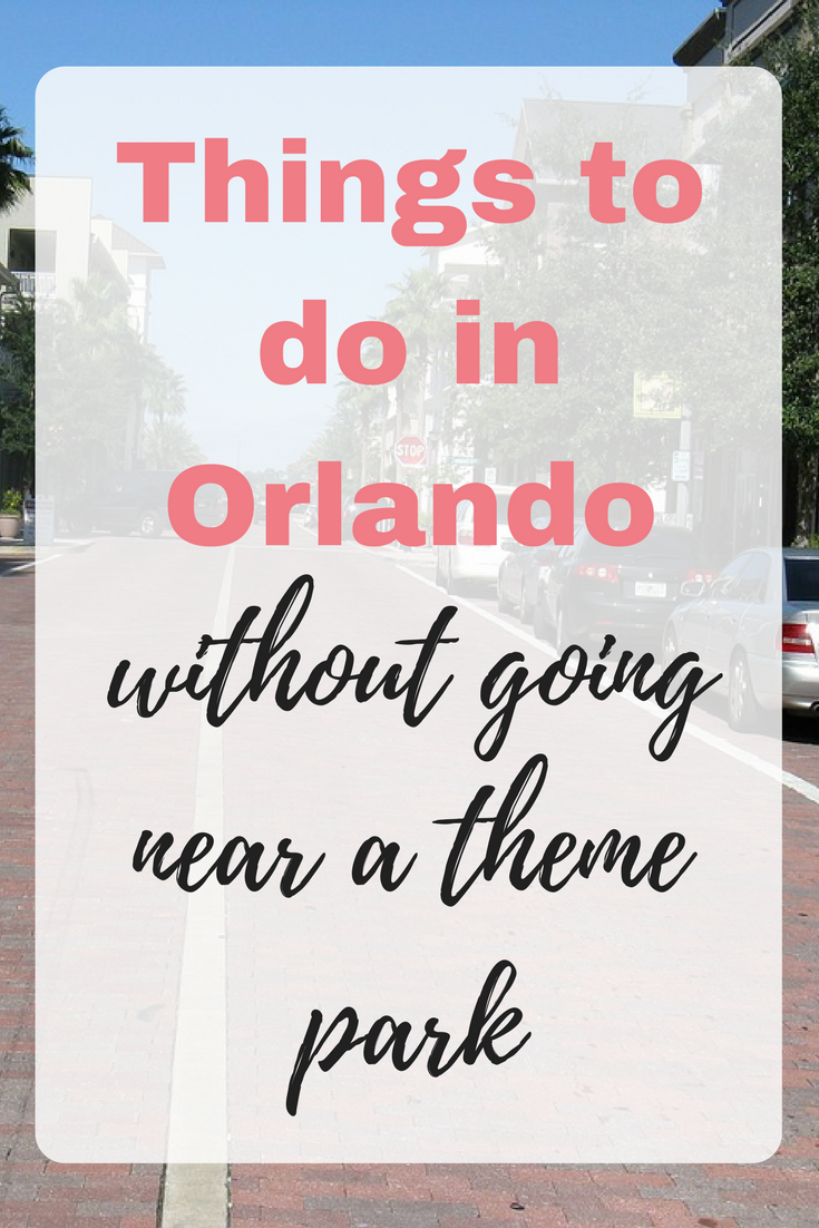 Here are things to do in Orlando without going near a theme park including shopping tips, Disney Springs and Orlando's Cat Café by Emma at EmmaDrew.info. #Orlando #OrlandoFlorida #ThingsToDoInOrlando #OrlandoRestaurants #OrlandoFood