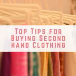 Top Tips for Buying Second hand Clothing
