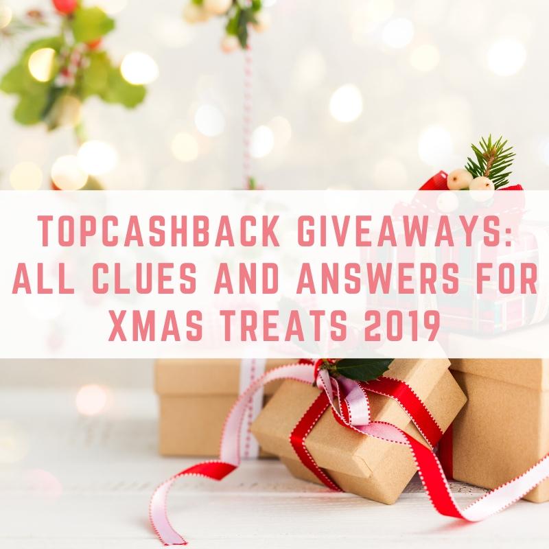 Topcashback xmas treats answers 2020