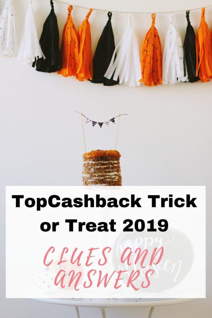 TopCashback Trick or Treat 2019