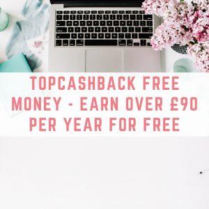 Topcashback free money