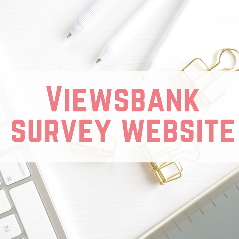 Viewsbank survey website