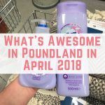 What's awesome in Poundland in April 2018