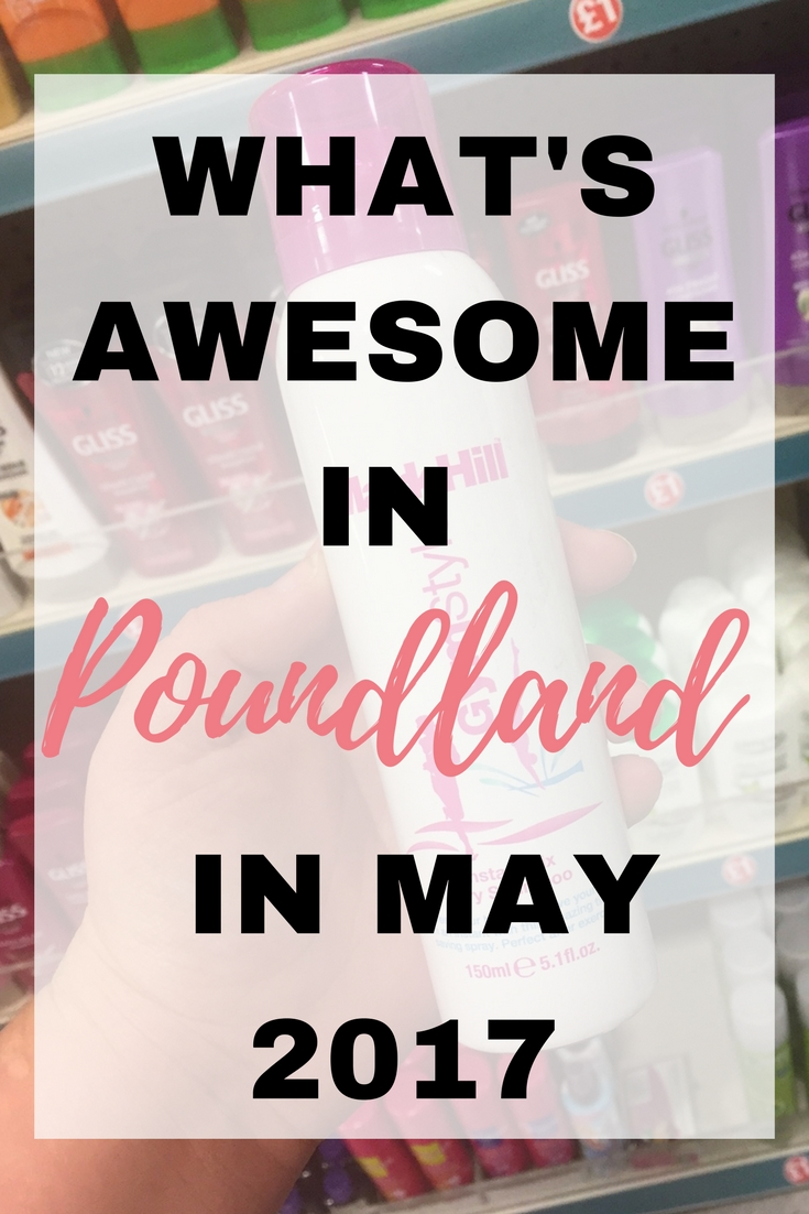 What's awesome in Poundland in May 2017