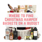 Where to find Christmas hamper baskets on a budget