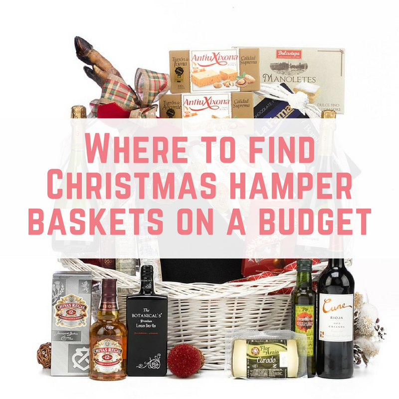 Christmas Hamper Basket.Where To Find Christmas Hamper Baskets On A Budget