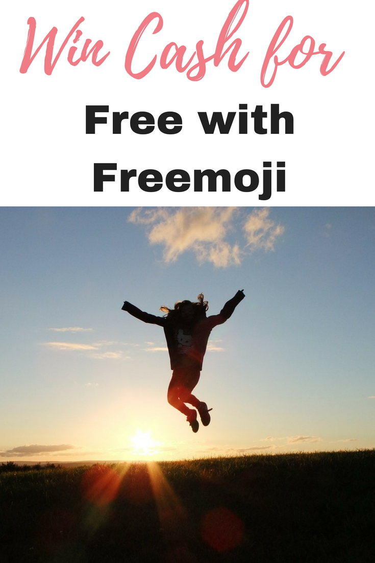 This is how to win cash for free with Freemoji Lottery with no hidden fees by Emma at EmmaDrew.info #WinCash #MakeMoneyFromHome #EarnMoneyFromHome