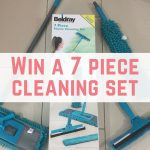 Win a 7 piece cleaning set