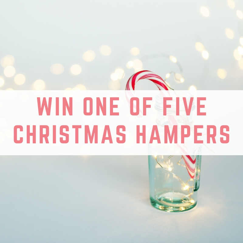 Win one of five Christmas hampers