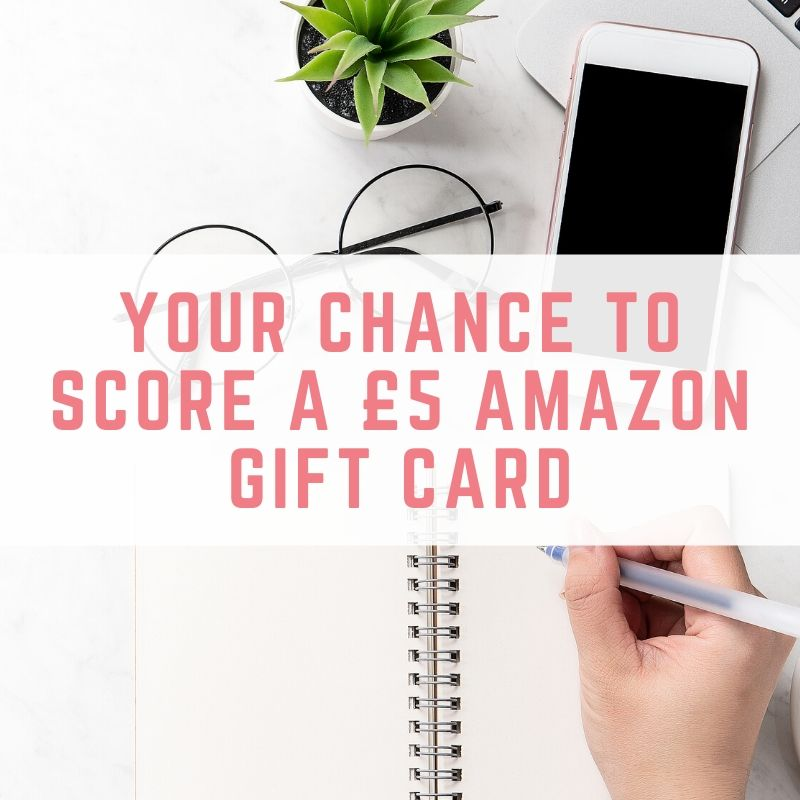 Your chance to score a £5 Amazon gift card