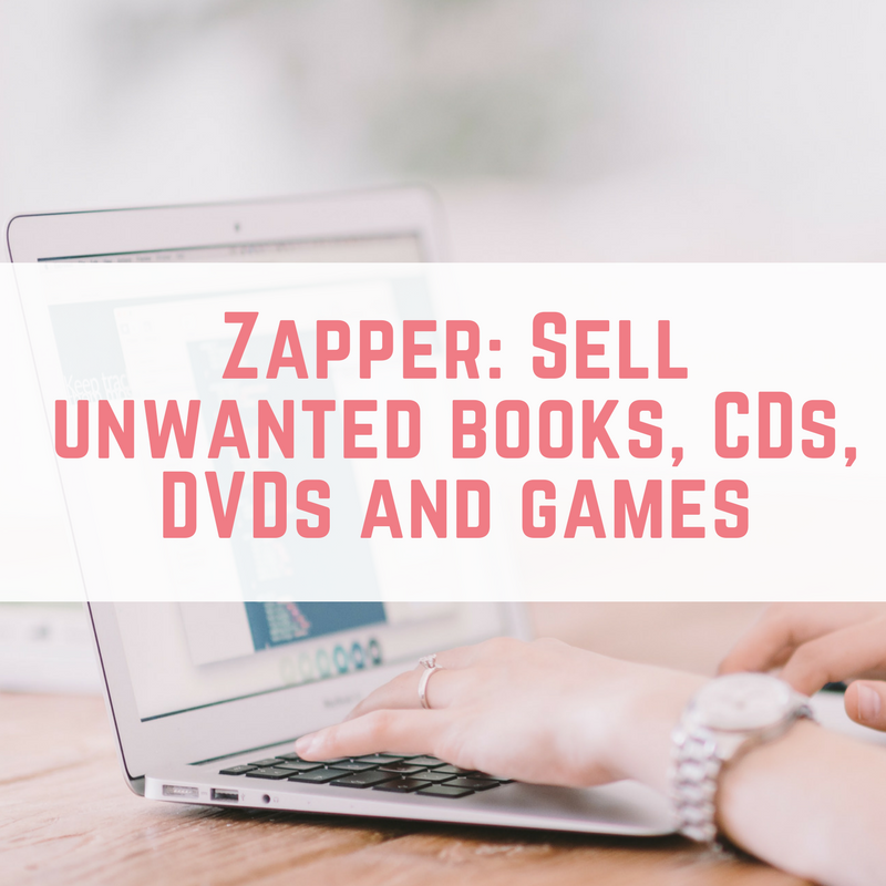 Zapper_ Sell unwanted books, CDs, DVDs and games