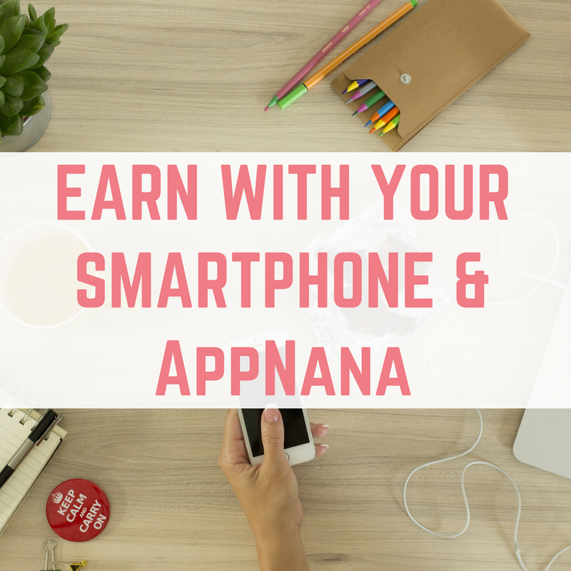 AppNana - earn with your smartphone