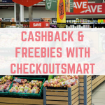 Cashback and freebies with CheckoutSmart
