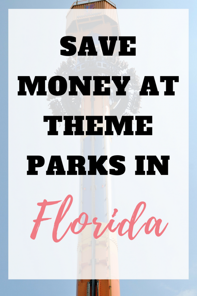 Save money on your trip to Florida - theme parks