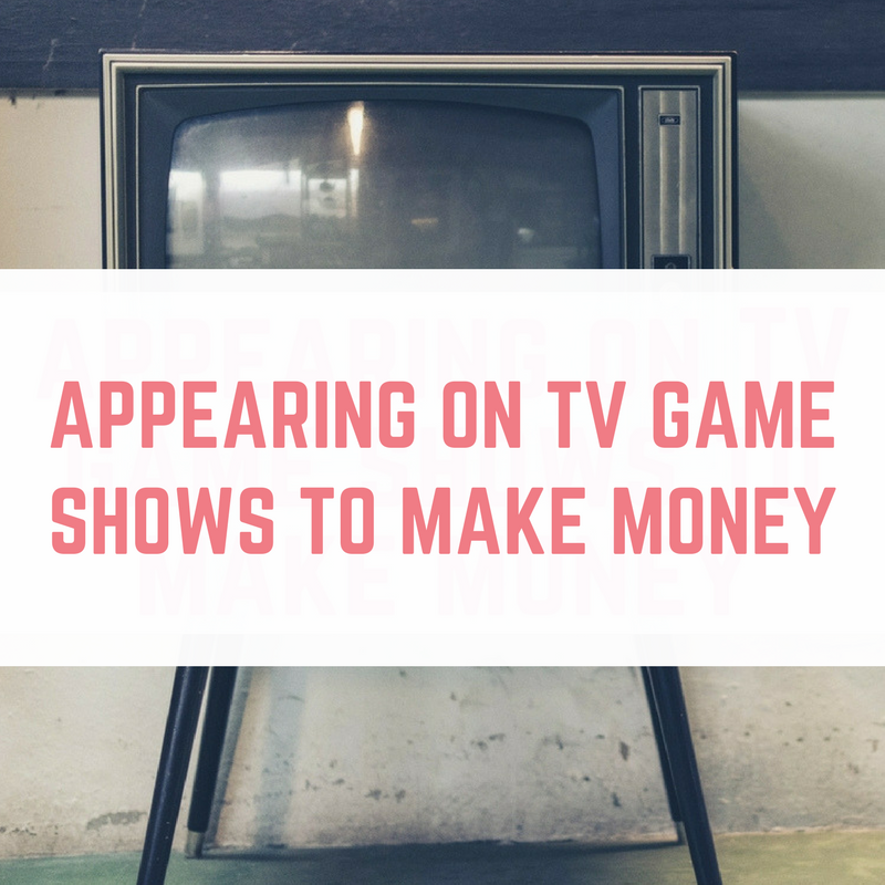 Making money from entering tv game shows