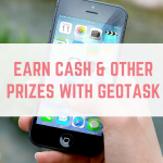Earn cash and other prizes with GeoTask