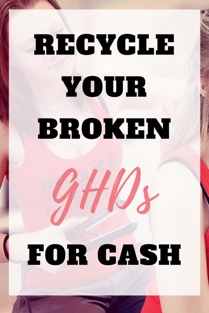 Make money from home by selling your used GHDs. Recycle your broken GHDs and make money by Emma at EmmaDrew.info. #MakeMoneyFromHome #MoneyMaking #EarnMoney #ExtraIncome