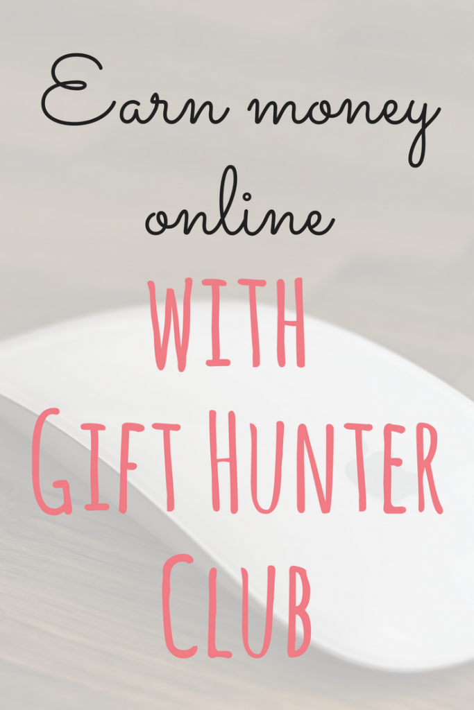 Gift Hunter Club is a great way to earn Paypal cash and gift vouchers. You earn points for completing tasks such as watching videos by Emma at Emmadrew.info #GiftHunter #MakeMoney #MoneyMaking