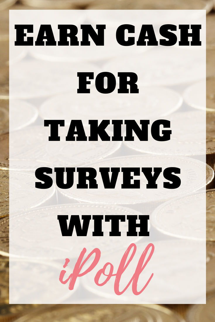 Have you tried iPoll yet? You can earn money for completing surveys. The web version of iPoll is pretty much what you'd expect from a survey website by Emma at EmmaDrew.info #survey #makingmoney #moneymaking #earnmoney