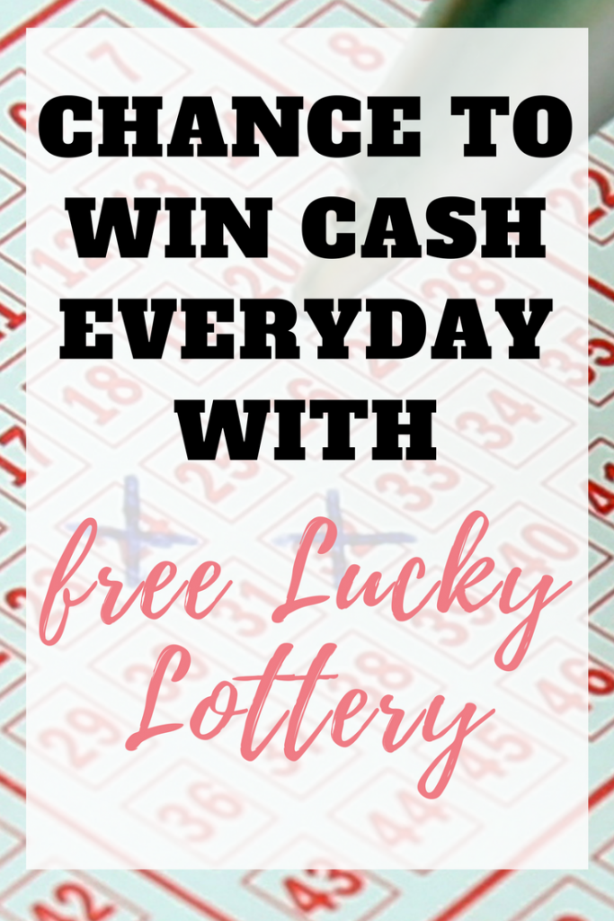 win cash daily with Free Lucky Lottery