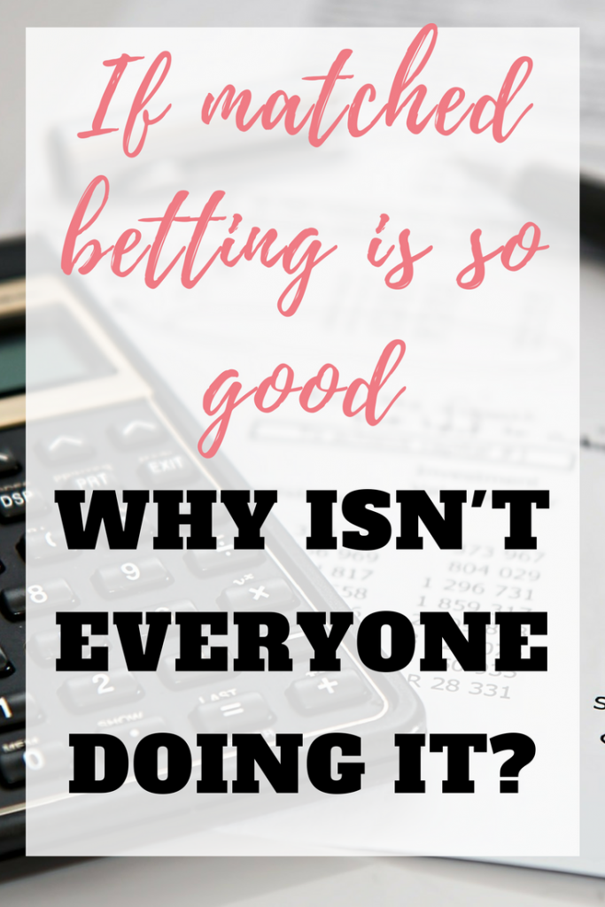 Matched betting is a a great way to make money from home, so why isn't everyone doing it? Find out how to make money from home and make matched betting work for you by Emma at EmmaDrew.info. #MatchedBetting #HowToUseMatchedBetting #MatchedBettingTips #MakingMoney #WorkFromHome #MoneyMaking