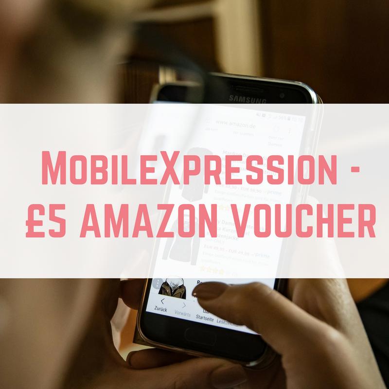 Mobile Xpression - £5 Amazon voucher